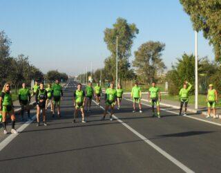 L' Italiana Running in allenamento
